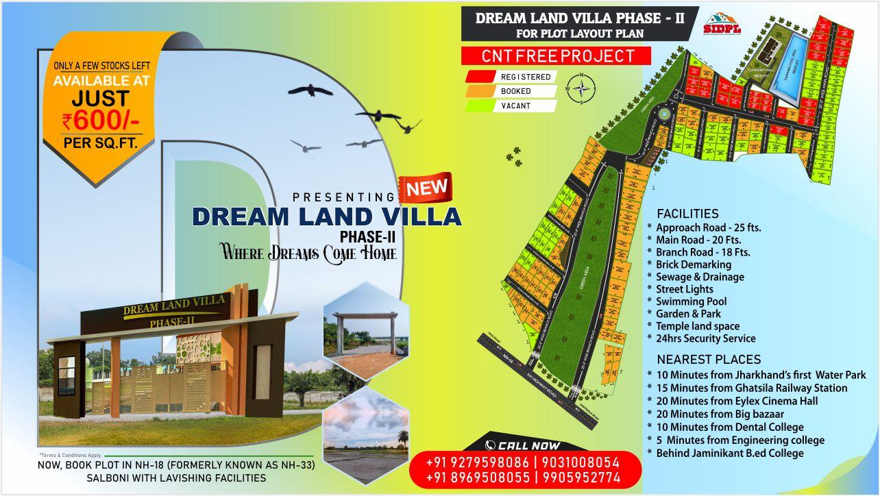 Dream Land Villa Phase-II